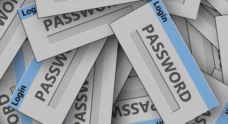 criar e guardar passwords